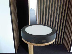 Luč z led panelom - hrast