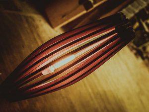 Luč iz soda - hrast